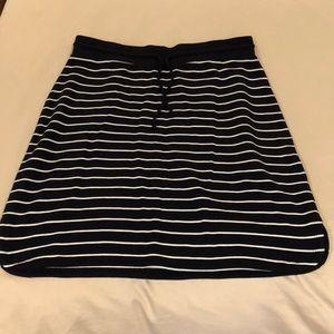 Talbots knee length cotton skirt